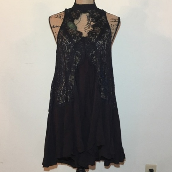 Free People Tops - Free People Lace Tunic Top